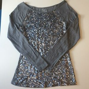 Old Navy Sequins Tunic Top